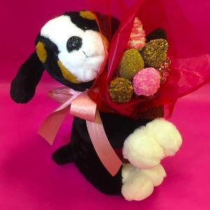 Dark Puppy Love Edible - Bouquet Orchard Berry Arrangements