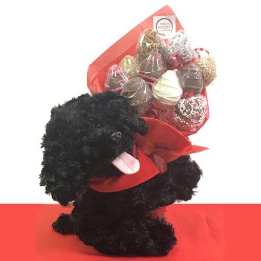 Puppy Love Bouquet - Orchard Berry Arrangements