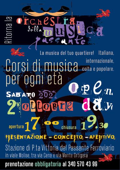 Open Day Orchestra Musica Passante