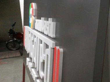 Anandvastu 2 ply logo cut in 18 mm sunboard + 2 mm acrylic+_2_mm_acrylic