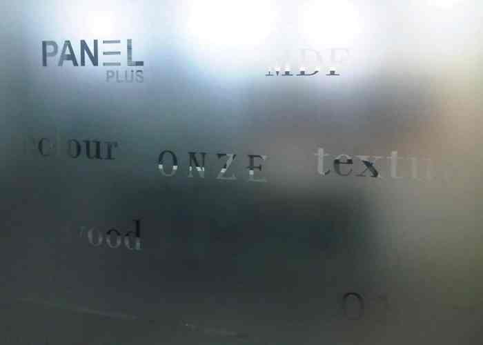 etched frosted glass film