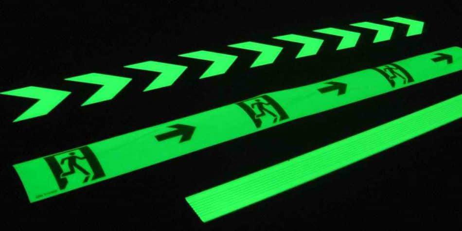 radium glow in dark prints emitting light in the darkness