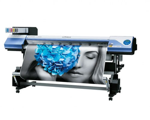 roland vs-640 print and cut exo solvent printer