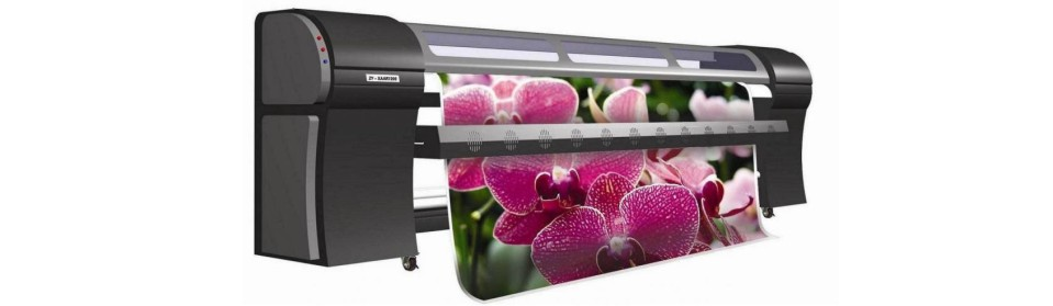 High resolution HP inkjet and eco solvent prints