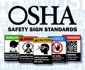 OSHA safety signage categories