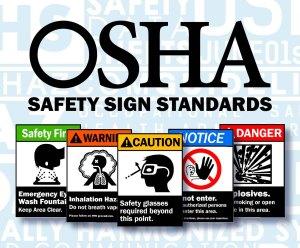 OSHA safety signage categories