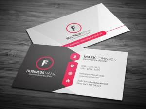 elegant design for business cards