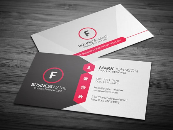 Visiting card printing on regular and textured papers