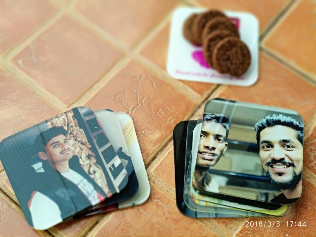 Custom Printed Coasters Bearing Your Design Company Logo