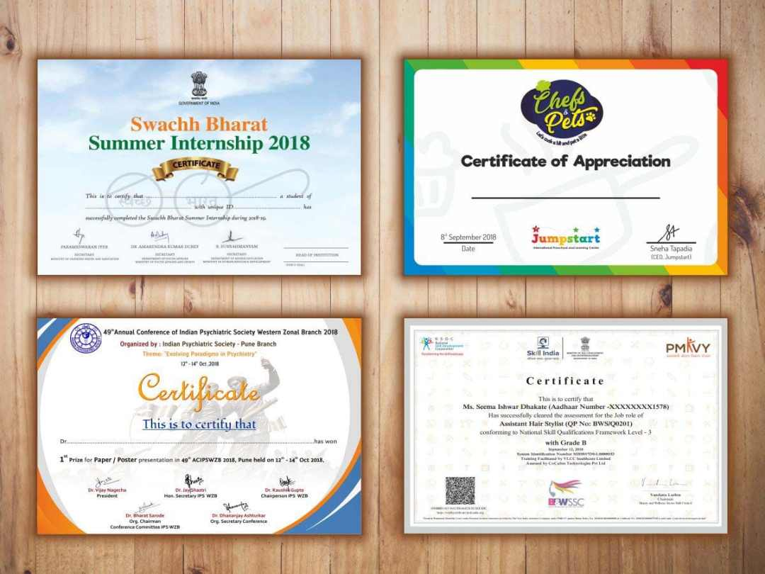 fast and economical certificate printing