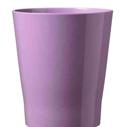 Merina Ceramic Pot Orchid Shiny Lavender (15cm)