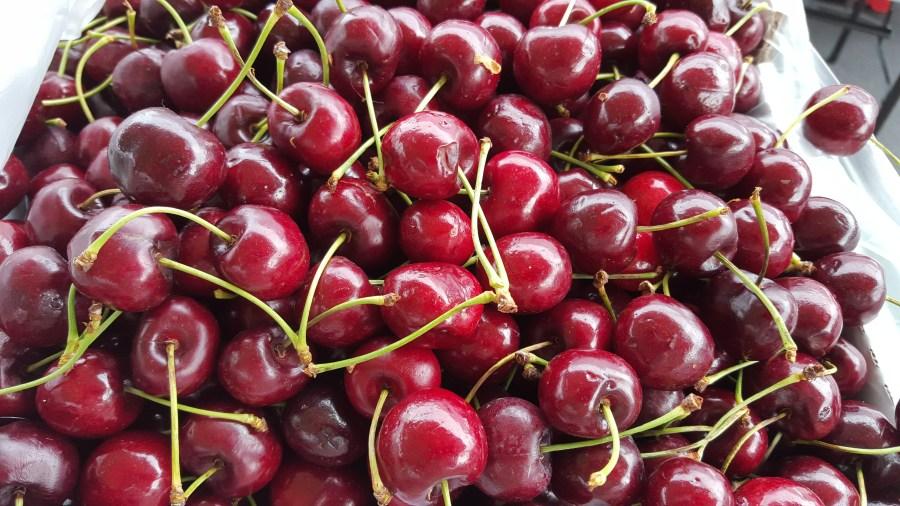 Cherries including Pie Cherries this week!