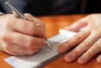 paiement par chèque - Or et compagnie