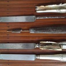 Couteau fourré en Argent