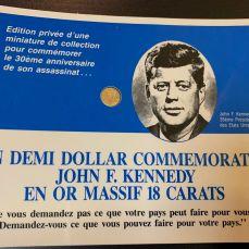 Carte postale JFK - or et compagnie Bordeaux