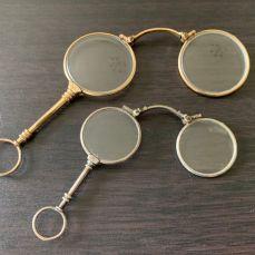 Binocle en Or et Argent - achat or et compagnie