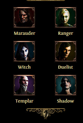 Resultado de imagen de path of the exile classes