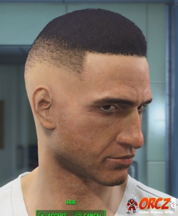 Fallout 4 Male Hair Dishonorable Discharge