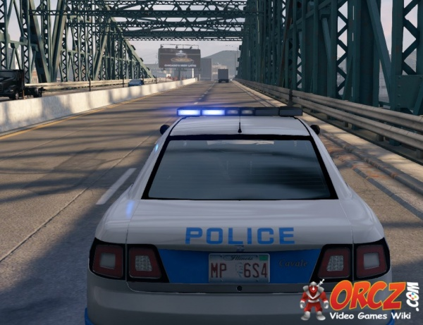 Watch Dogs Police Patrol Car Cavale The Video Games Wiki