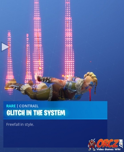 Fortnite Battle Royale Glitch In The System