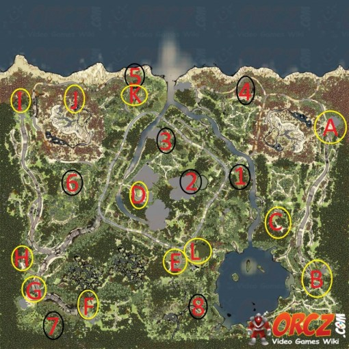 Spintires  Coast Map   Orcz com  The Video Games Wiki MAP edit