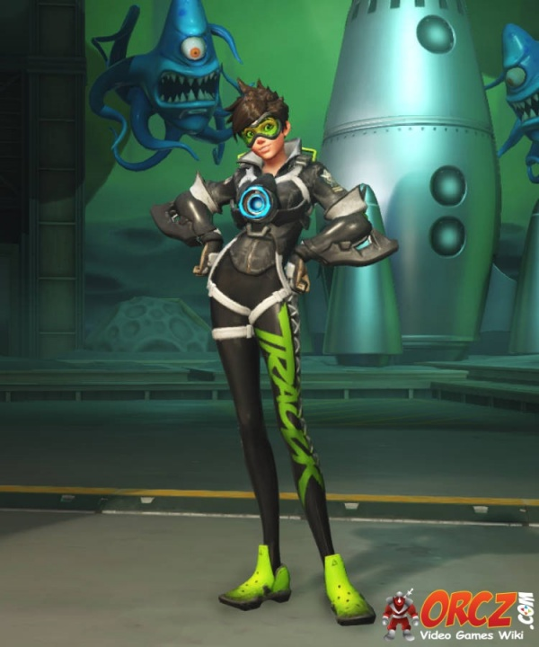 Overwatch Tracer Sporty Skin The Video Games Wiki