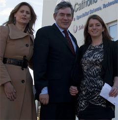 Gordon Sarah Brown PPS McGovern