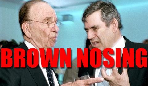 Brown Nosing Murdoch