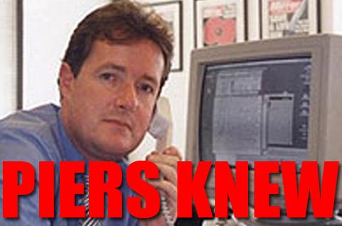 Piers Morgan Knew of Hacked Scoop