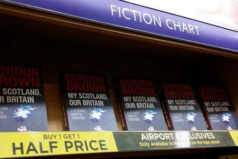 gordon brown scotland book half price