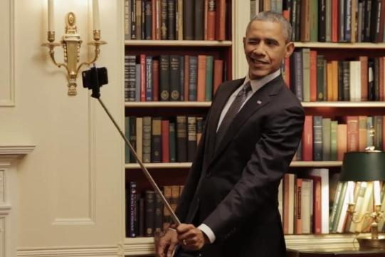 Obama-Selfie-Stick