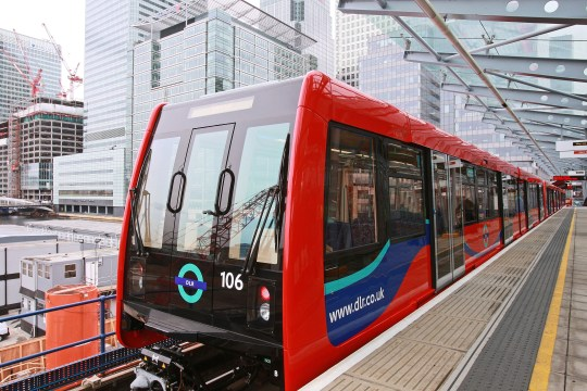 New DLR Rail Car 2