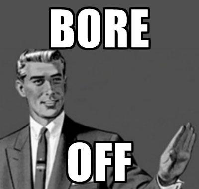 bore-off