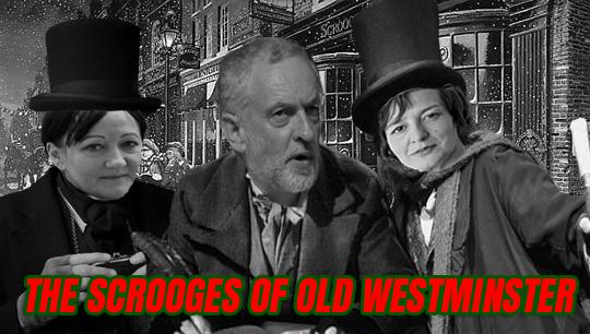 Westminster scrooges