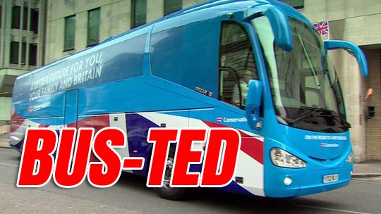 Bus-ted: Tories Fined £70000, Treasurer Faces Charges, Thanet Re-Run