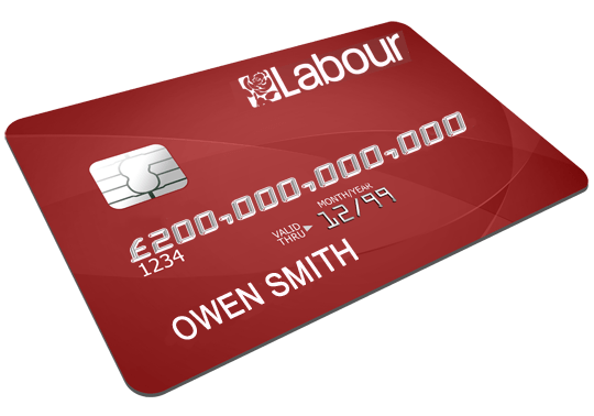 owen smith credit card