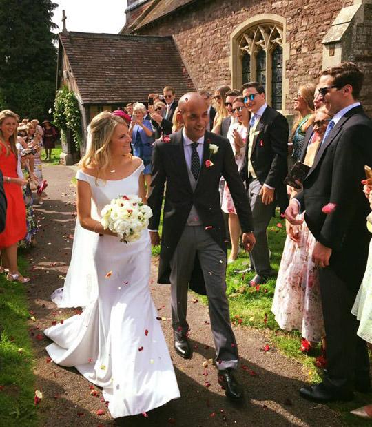 Chuka Umunna married wedding