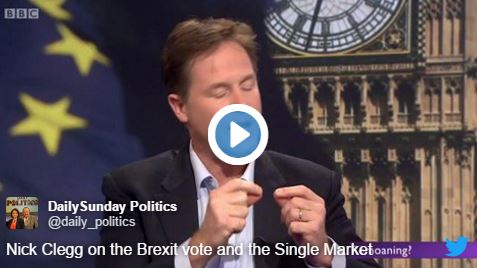 WATCH: Clegg Gets Brillo'd