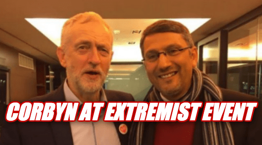 Pictured: Corbyn Hangs Out with Israel Hater