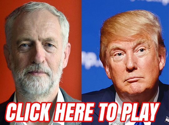 Trump vs Corbyn: Who Said It?