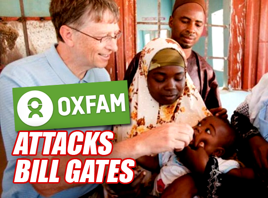 Oxfam Attacks World's Biggest Charitable Donor