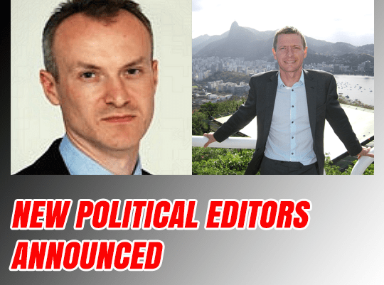 New Political Editors Announced