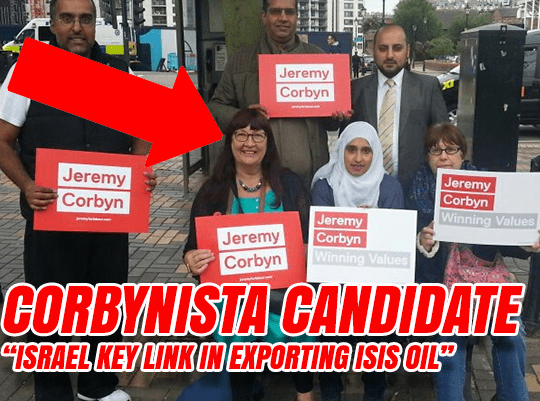 Corbynista Candidate: Israel Linked to ISIS Oil