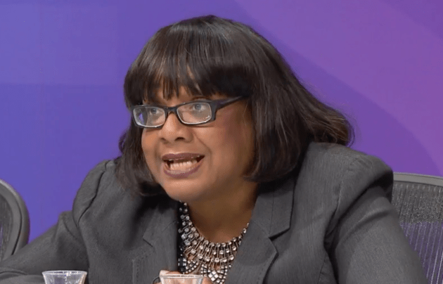 Watch: Diane Abbott On Top of Her Brief As Usual