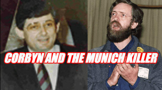 Corbyn Honoured Munich Killer