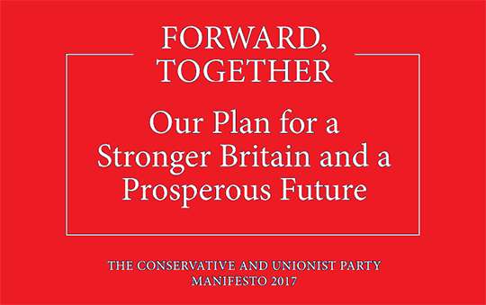 Read Tory Manifesto In Full