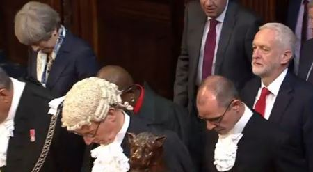 Corbyn Refuses to Bow to The Queen