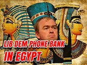 LibDems Call Like An Egyptian