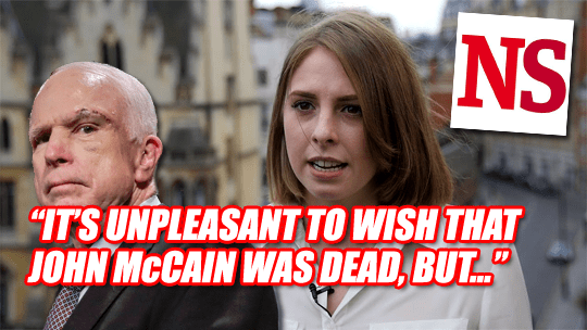 Now Abi Slurs Cancer-Stricken John McCain