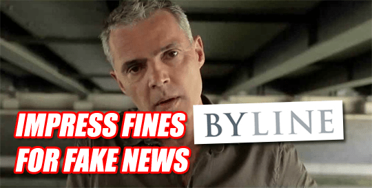 Byline Fined For Defamation in First Impress Ruling